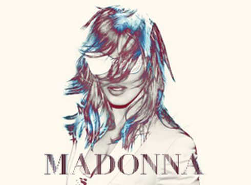 Madonna World Tour 2012 poster