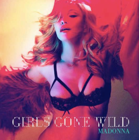 Madonna Girl Gone Wild single cover