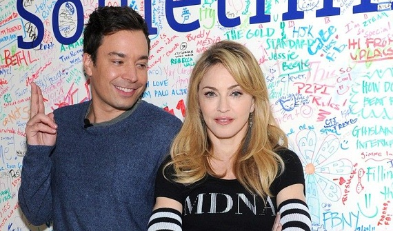 Madonna e Jimmy Fallon - Facebook MDNA chat