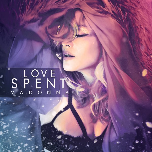 Madonna - MDNA - Love Spent - Single Cover