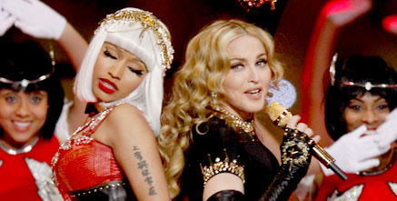 Madonna e Nicki Minaj - Super Bowl
