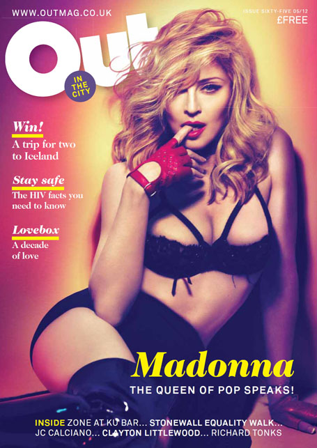 Entrevista de Madonna para a revista OUT IN THE CITY - tradução