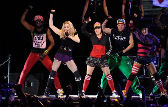 Madonna Sticky & Sweet Tour - Madonna no Brasil