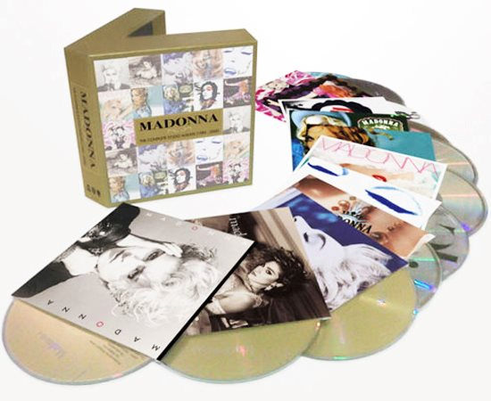 Madonna - The Complete Studio Albums 2012