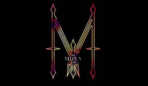 MDNA Logo tour 2012 de Madonna