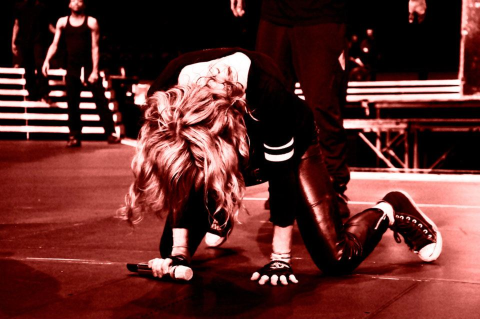 Madonna MDNA World Tour 2012 - Ensaio